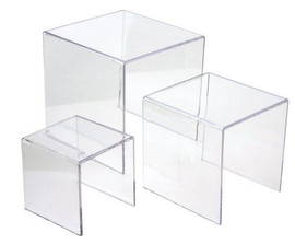 Clear Acrylic Riser Set - Small