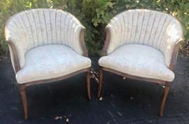 Blush Club Chairs