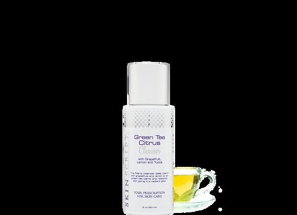 SKIN SCRIPT Green Tea Citrus Cleanser 2oz