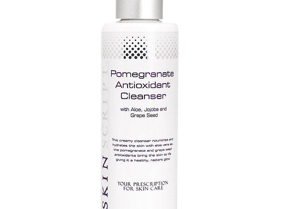 SKIN SCRIPT Pomegranate Creamy Cleanser 6.5 oz
