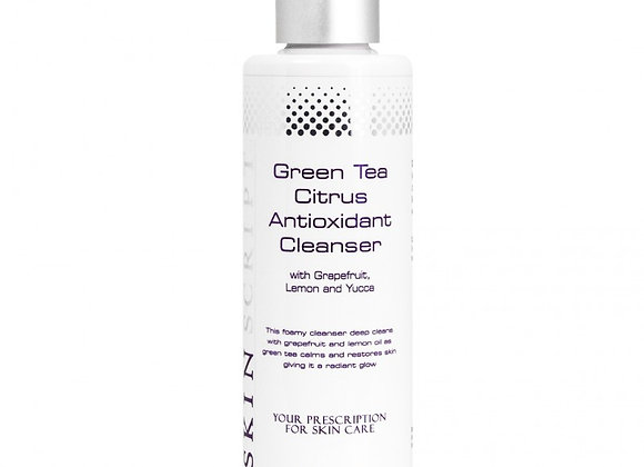 SKIN SCRIPT Green Tea Citrus Cleanser 6.5 oz