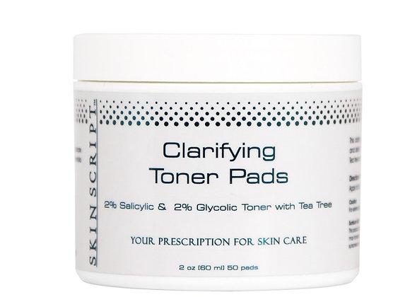 SKIN SCRIPT Clarifying Toner Pads - 50 Pads