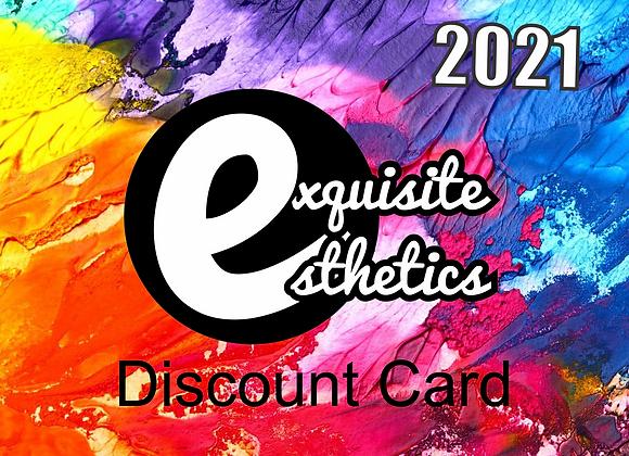 EXQUISITE DISCOUNT CARD