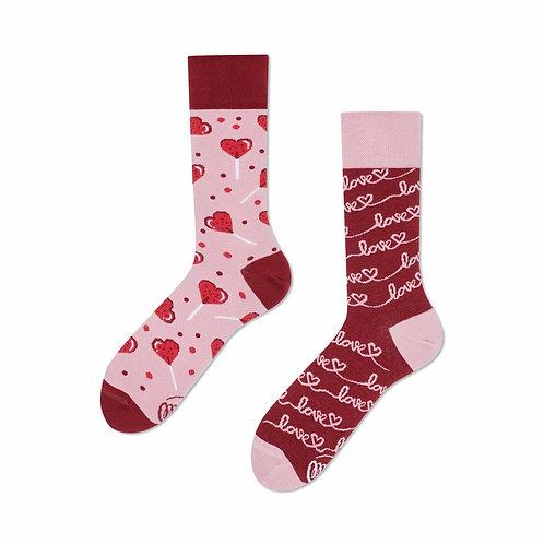 Love story socks regular