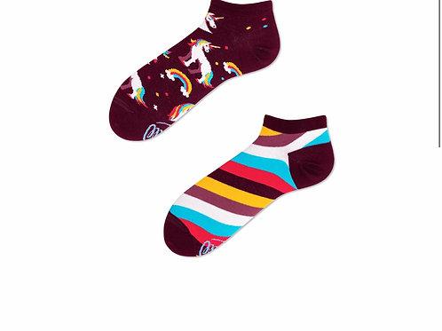 The unicorn socks kids and low