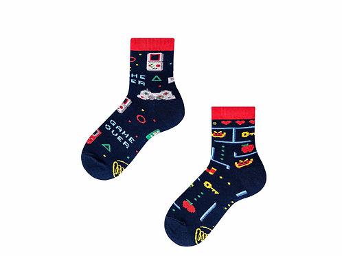 Game over socks kids