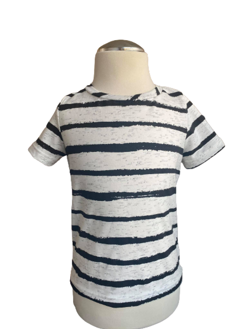 Black strips t-shirt