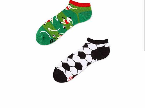 Football fan socks low