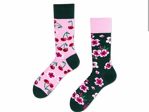 Cherry blossom socks regular