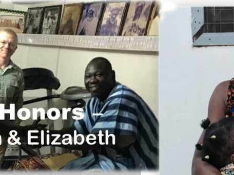 Giving Honor—Christian and Elizabeth Nsoah