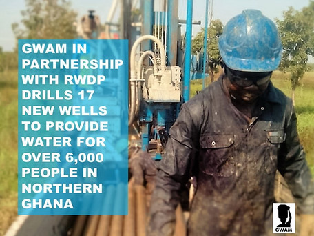 Over 6,000 More People Will Have Clean Water in Northern Ghana