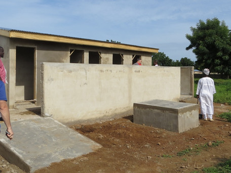 Latrine Toilets for Schools in Northern Ghana