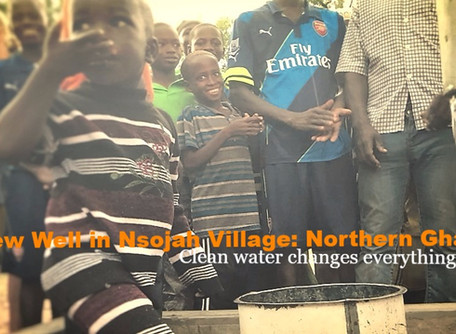 Clean Water Brings Smiles: Nsojah Village