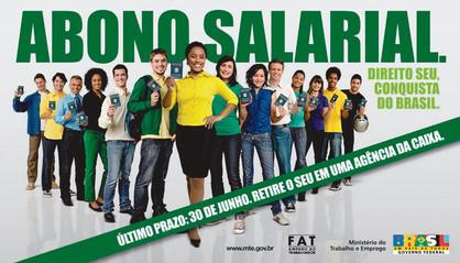 Trabalhadores têm até 30 de junho para sacar o abono salarial de 2015