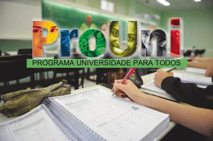 Último dia de inscrições para o ProUni 2017