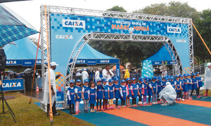 Quatro crianças paulinenses conquistam prêmio máximo na Maratoninha Caixa