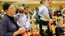 Como llevar tu hijo pequeño a misa y sobrevivir en ella