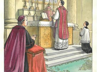 Diciembre 8 (1901): ÚLTIMA MISA DE SAN JOSÉ MANYANET, por el P. Josep M. Blanquet SF