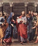 JESUS PRESENTACION EN EL TEMPLO DE JERUS