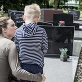 Para los niños, lo ideal es acompañar a la persona que se está muriendo