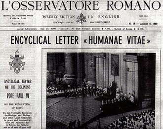 La redacción de la Humanae Vitae