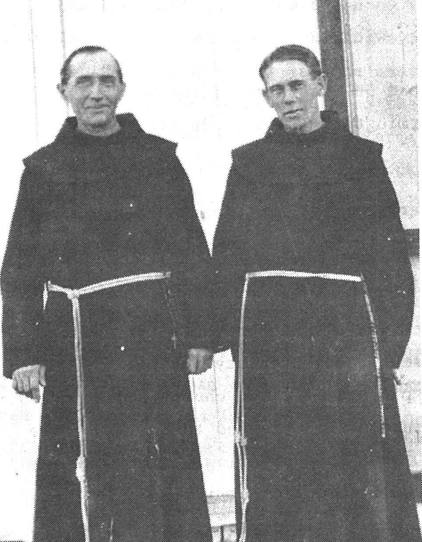 1910 Fr. ALBERT T DAEGER ON THE LEFT