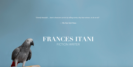 Frances Itani Website