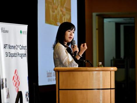 日本経済新聞 に弊社代表が参画しているAPTWomenの取り組みが掲載されました。