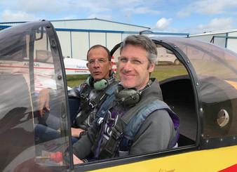 Les pilotes Transavia à l'AVA