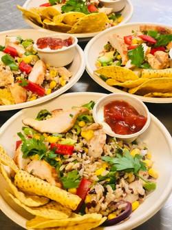 Mexican salad bowls