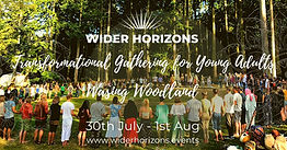 🌿Wider Horizons Transformational Gathering for Young Adults