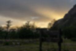 Sonnenaufgang im Tal Piedra del Fraile