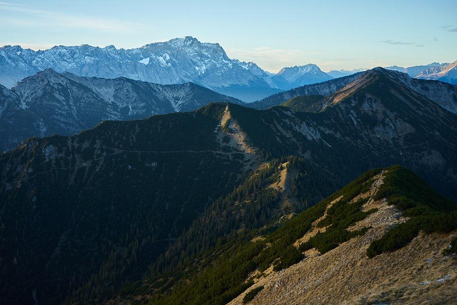 Ammergauer Alpen Sonnenaufgang