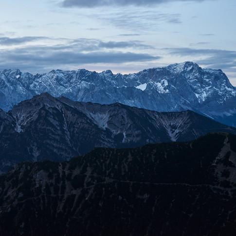 Ebenen der Berge