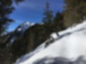 Blick vom Mühltal auf den Patscherkofel