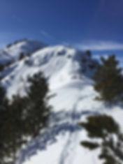 Der Grat des Inntaler Höhenwegs von Boschebenhütte Richtung Patscherkofel