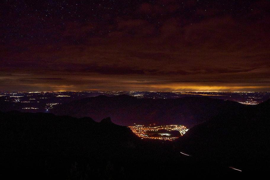 Oberammergau bei Nacht