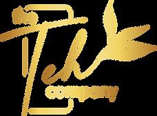the teh company logo transparent gold.pn