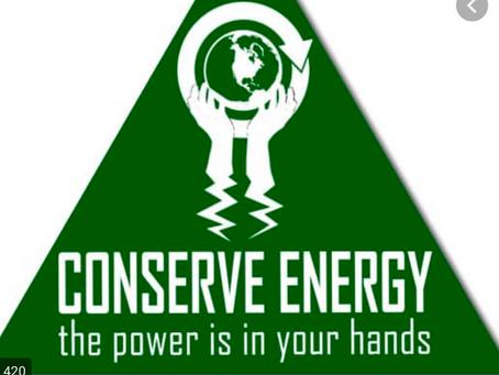 Conserve!