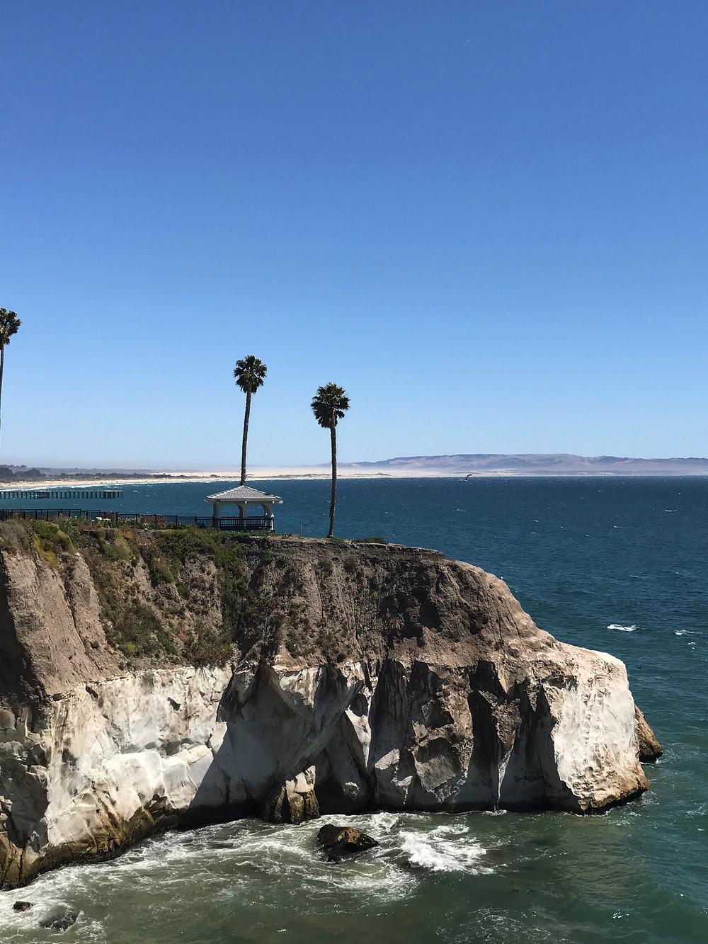Above the Pacific Ocean, near Pismo Beach, CA