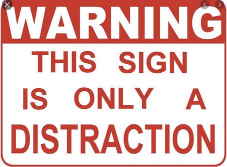 Re-write:  Distract!
