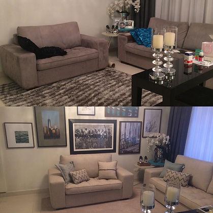 Antes e Depois de um Home Decor Express