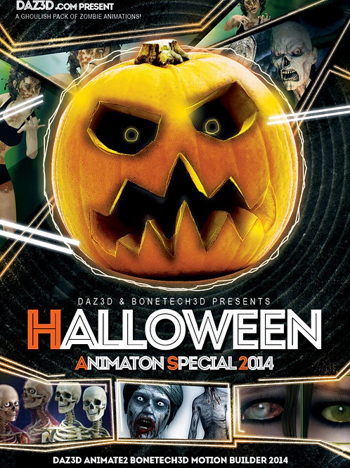 Halloween Pro Animation Bundle 2014