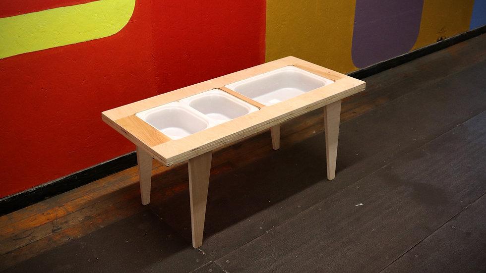 Sensory Montessori Table