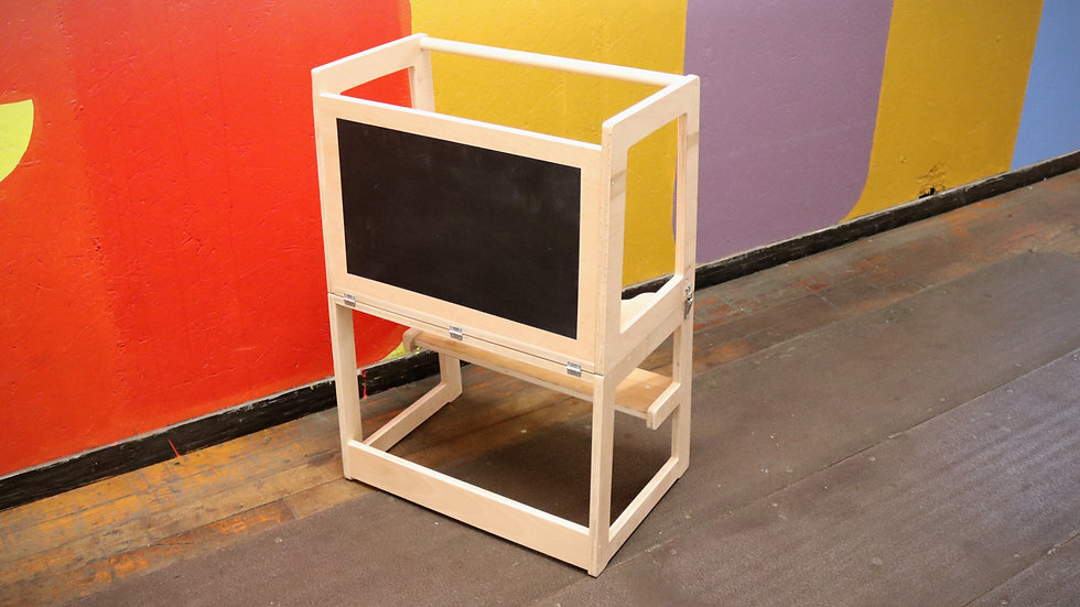 Double Learning Tower +Draw table + Chalkboard