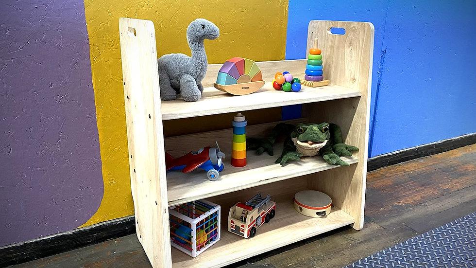 Montessori Toys and Bookshelves 2 in 1