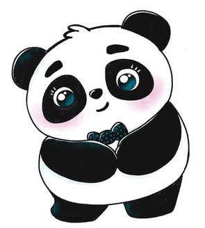 Boo la petite panda