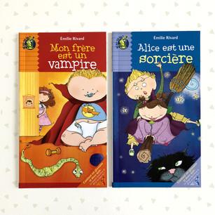 Mon frère est un vampire / Alice est une sorcière
