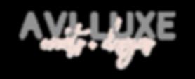 Avi Luxe Events + Designs Logo 2.0 Gray.