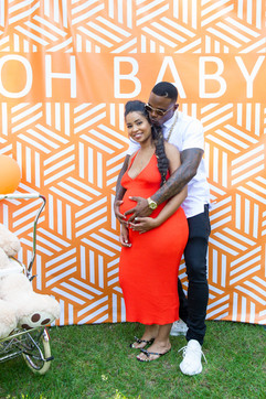 Chicago Bears's Josh Bellamy & girlfriend Amethyst's Baby Shower
